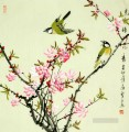 Chinese bird plum blossom