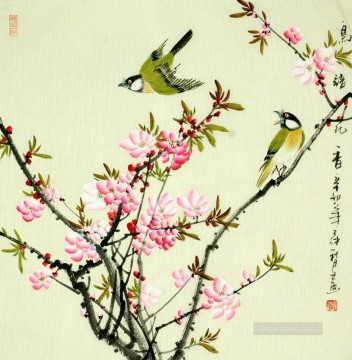 Chinese bird plum blossom Oil Paintings