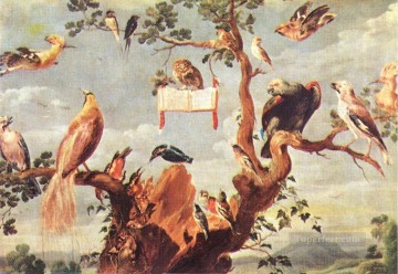 Concert Of Birds 2 Frans Snyders bird Oil Paintings