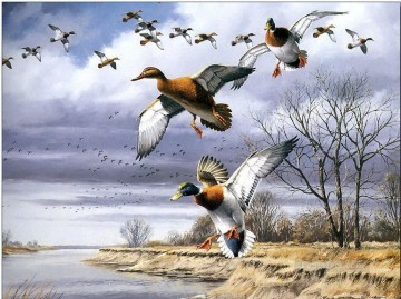 birds migration Oil Paintings