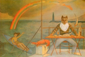 The Mediterranean Cat Oil Paintings
