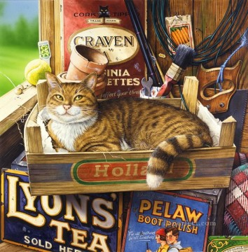 Fothergill GT kitten Oil Paintings