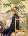 Berthe Morisot Girl with Dog