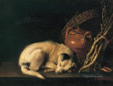 Dog Painting - Dog Golden Age Gerrit Dou