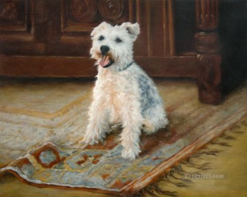Eddy dog Oil Paintings