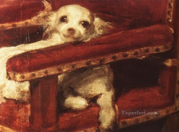Dog Painting - Infante Philip Prosper dog Diego Velozquez