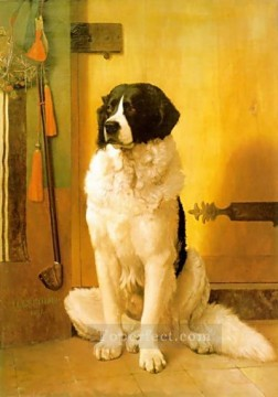 Dog Painting - Study of a Dog Jean Leon Gerome