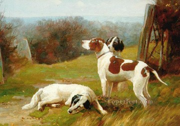 am041D doggy Oil Paintings
