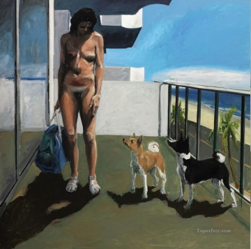 Dog Days Oil Paintings