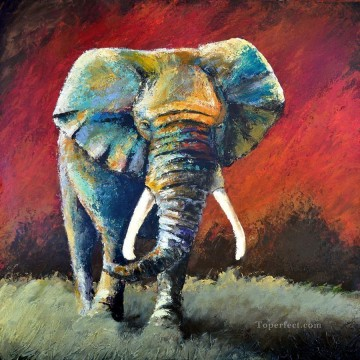 Animal Painting - elephant 02