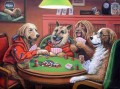 Dogs Playing Poker 3 facetious humor pets