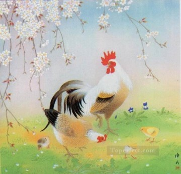 Animal Painting - amb0010D11 animal fowl