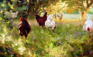 Animal Painting - am207D13 animal fowls