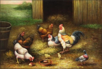 Animal Painting - amb0010D13 animal fowl