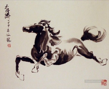 Animal Painting - Chinese running horse 2