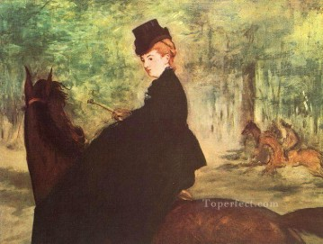The Horsewoman Realism Impressionism Edouard Manet Oil Paintings