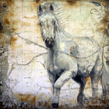 Horse Painting - horse Whispers Across the Steppe 2