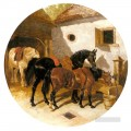 The Farmyard John Frederick Herring Jr horse