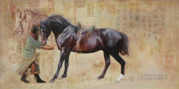 Chinese horse Oil Paintings