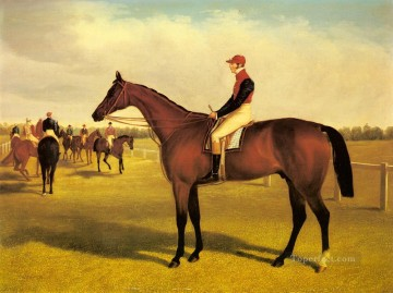 Animal Painting - Don John The Winner Of The 1838St Leger With William Scott Up Herring Snr John Frederick horse