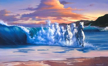 JW thewave Fond d ecran neddy Oil Paintings
