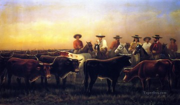 horses Art - James Walker Judge of the Plains horses