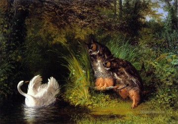 Susannah and the Elders William Holbrook Beard animal Oil Paintings