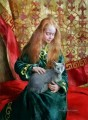 Pretty Little Girl NM Tajikistan 23 pet kids