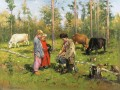 shepherds 1904 Vladimir Makovsky kids animal