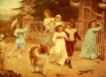 Home Team idyllic children Arthur John Elsley pet kids