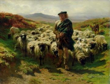 Rosa Bonheur The Highland Shepherd Oil Paintings