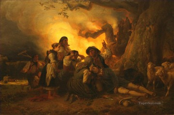 The Shepherd Struck Oil Paintings