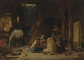 Arab Painting - AT REST ALGERIA Frederick Arthur Bridgman Arab