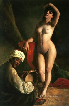 Arabic Oil Painting - Arabic nude
