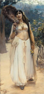 SOIR DETE Frederick Arthur Bridgman Arab Oil Paintings