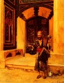 The Beggar Arabian painter Rudolf Ernst