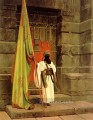 The Standard Bearer Arab Jean Leon Gerome