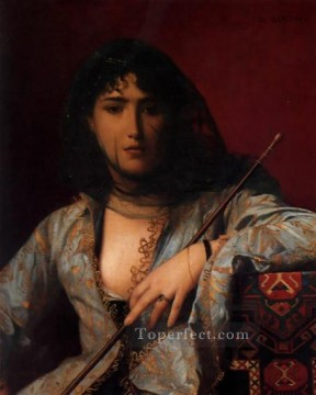 Veiled Circassian Lady Arab Jean Leon Gerome Oil Paintings