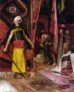assassin Jean Joseph Benjamin Constant Araber Oil Paintings