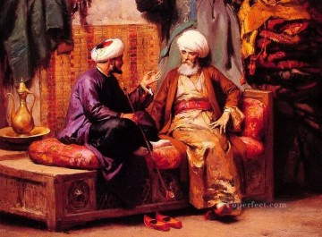 Artworks in 150 Subjects Painting - the talking arabs middle east