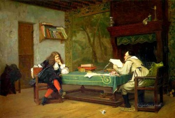 A Collaboration Arab Jean Leon Gerome Oil Paintings