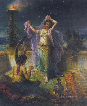 Arabian Nights Hans Zatzka Oil Paintings