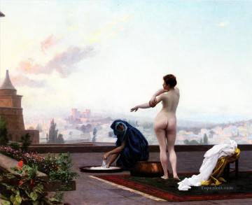 Bathsheba Arab Jean Leon Gerome Oil Paintings