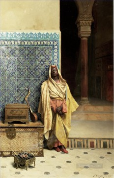 Arab Painting - Leads Bonhams Ludwig Deutsch Orientalism Araber