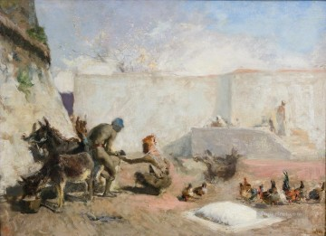 Mariano Fortuny Moroccan farrier Arabs Oil Paintings