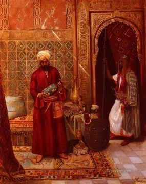 Arab Painting - New acquisition Ludwig Deutsch Orientalism Araber