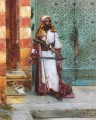 Standing Guard Arabian painter Rudolf Ernst