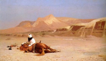 The Arab and his Steed Arab Jean Leon Gerome Oil Paintings