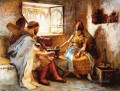 The Game of Chance Arabic Frederick Arthur Bridgman