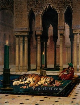 The Grief of the Pasha Arab Jean Leon Gerome Oil Paintings